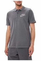 Nike Mens M Nsw Polo Pq Wash Hbr 886491 (X-Large|Black/Anthracite/Cool Grey) - $33.84