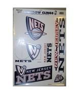NBA New Jersey Nets Window Clings - $12.99