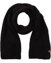 Bickley + Mitchell Men's Long Knitted Scarf - Black [031052 01] - ₹4,621.88 INR