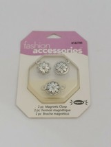 Cousin Corp Fashion Accessories 2 Piece Magnetic Clasps