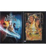 The Last Airbender (2010) & Cutthroat Island (2007) Widescreen DVD's - $5.99