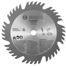 "Bosch PRO840COMBB 8"" x 40T Combination Saw Blade 5/8"" Arbor - $13.86"