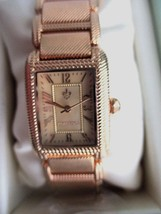 Judith Ripka NIB Gold-Tone Lexington Watch Size AVERAGE W JR Box/Pillow/... - $139.95