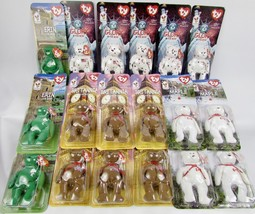 Lot Of 18 McDonald's TY Beanie Babies,Maple,Glory,Erin,Britannia - $17.82