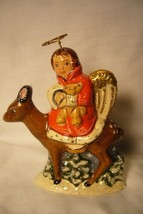 Vaillancourt Folk Art, 35th Ann Angel and Deer Limited signed by Judi image 1
