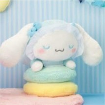 sanrio cinnamon roll Babies HAPPY BIRTHDAY! stuffed Soft Plush doll big - $72.42