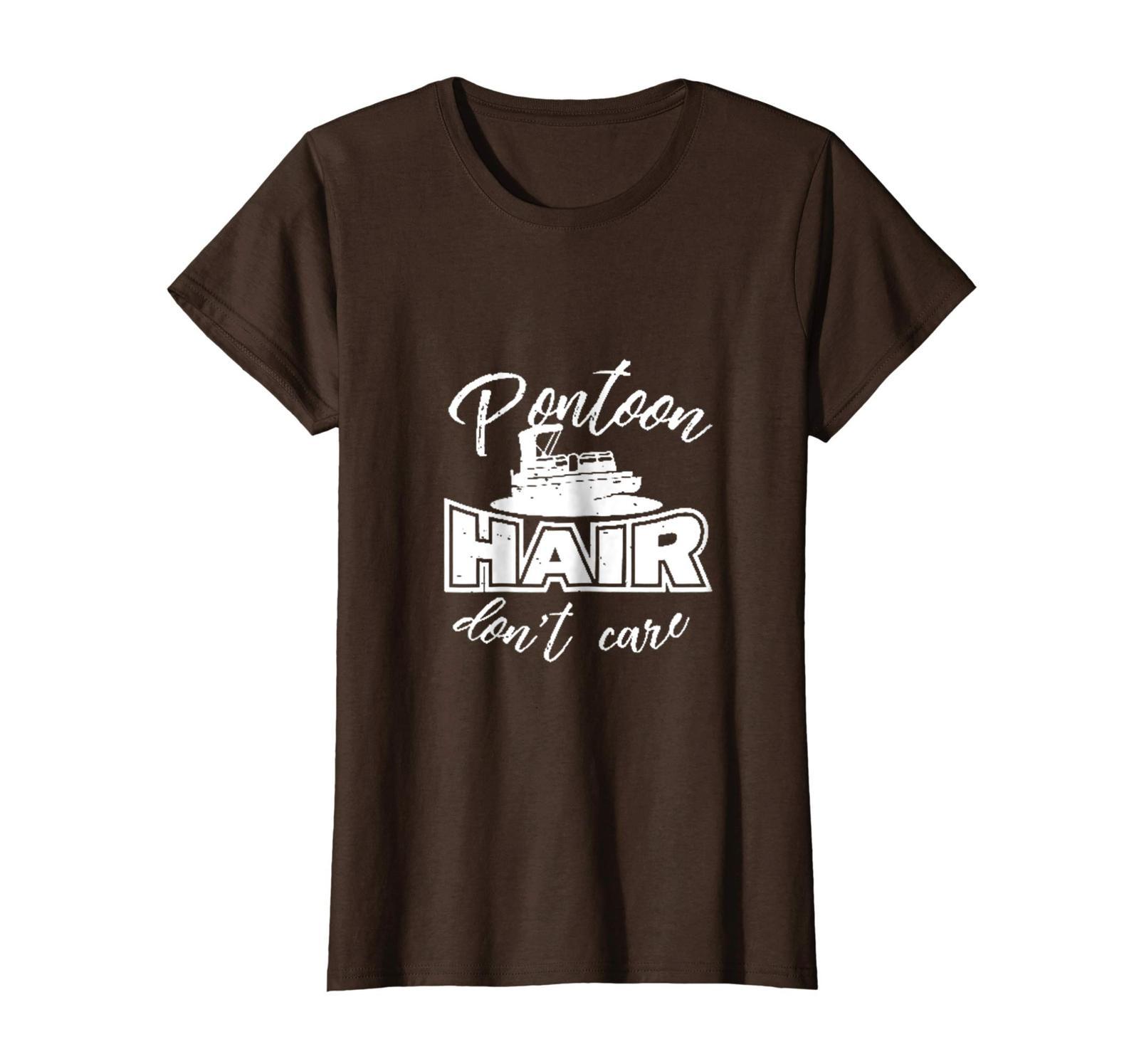 Brother Shirts - Pontoon Hair Don't Care Shirt Wowen