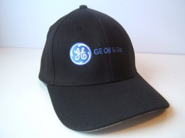 GE Oil & Gas General Electric Johnstown CO Hat L/XL Stretch Fit Baseball... - $23.05