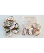 Set of 10 BGE Originales Abalone Buttons Made in Japan, NOS sealed in ba... - $23.65