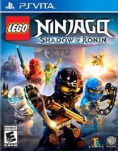 LEGO NINJAGO:SHADOW OF RONIN  - PS Vita - (Brand New) - $24.25