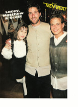 Lacey Chabert Scott Wolf Matthew Fox Rider Strong teen magazine pinup clipping