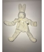 BUNNIES by the BAY Off White Cream Silly Buddy Bunny Lovey Pacifier Holder - $19.34