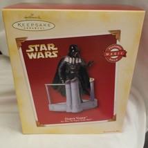 Hallmark Ornament Darth Vader Star Wars The Empire Strikes Back Magic Vo... - $16.58