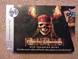 Disney Pirates of the Caribbean DVD Treasure Hunt Board Game from Imagination - $5.36
