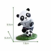Panda Playing Football Mini Panda Puppet Home Decoration Kids' Gift(England)