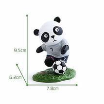 Panda Playing Football Mini Panda Puppet Home Decoration Kids' Gift(Engl... - $22.99