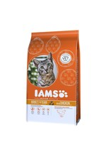 Iams Proactive Health Complete and Balanced Cat Food with Chicken, 3 kg - $18.26