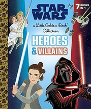 Heroes and Villains Little Golden Book Collection (Star Wars) by Golden ... - $1,000.00