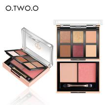 O.TWO.O Palette Eyeshadow Highlighter Glitter Blusher Face Contour Makeup Pallet - $20.98