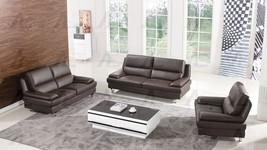 American Eagle EK-B109-DC Dark Chocolate Sofa Loveseat Chair G/Leather S... - $38.947,63 MXN