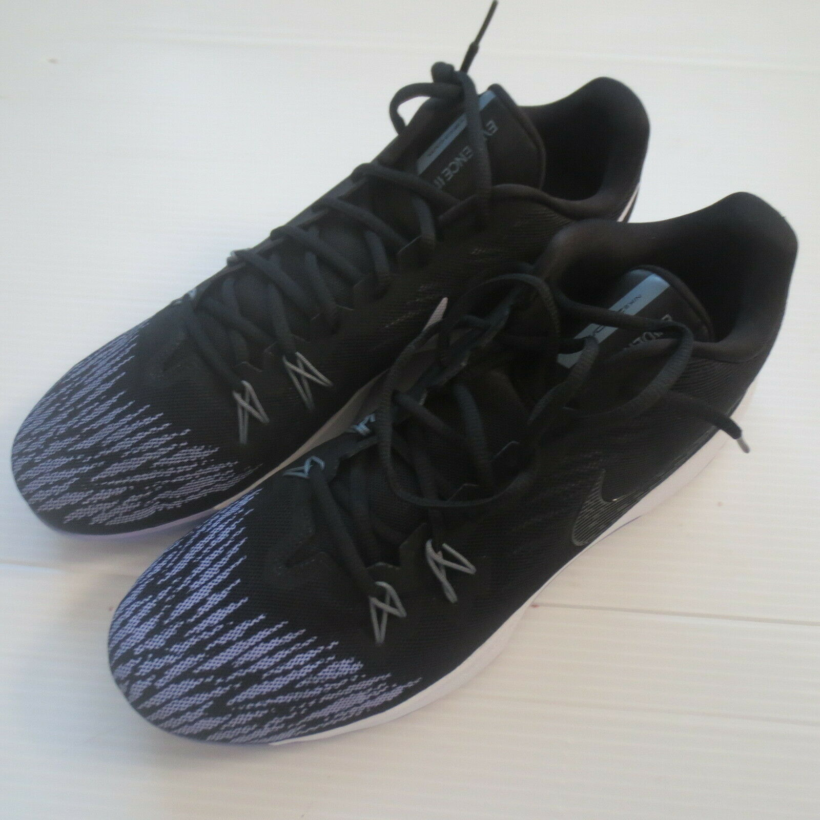 Nike Zoom Evidence II Shoes - 908976 - Black Lavender 105 - Size 14 - NEW image 5