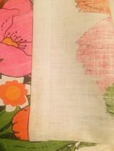 Vintage 1972 Linen Kitchen Tea Towel/Calendar image 7