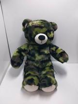 Build a Bear BABW Camo Camouflage Teddy Bear 16 inch 2013 - $19.79
