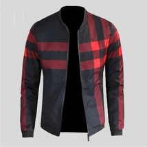 2018 New Arrival Men's Brand Quality Jacket Male Stand Collar Long Sleeve Outwe - $44.88