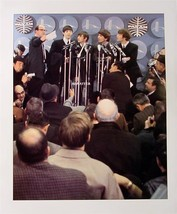 "Vintage 11"" X 14""  Beatles 2-Sided Poster Upon arrival for Ed Sullivan S... - $6.89"