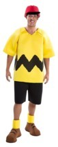 Charlie Brown Peanuts Costume Deluxe Good Grief Adult Cosplay Theater Pl... - £30.26 GBP