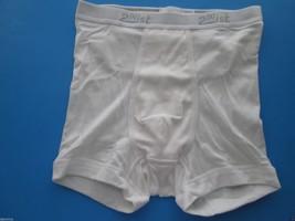 2(X)ist Mid-Rise Comfort Cotton Trunk Profile Men's Boxer White M (30-32... - $6.46