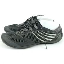 Merrell Pace Glove Black Gray Womens Sneaker 10 Barefoot Trail Running L... - $27.87
