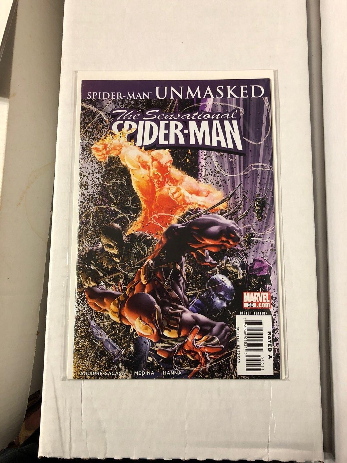 Sensational Spider-Man #30