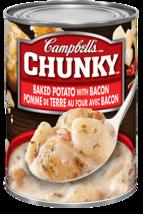 Campbell's Chunky Soup Baked Potato & Bacon 6 x 540ml Canada  - $69.99