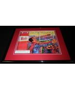 1989 Winston Cigarettes / Football Framed 11x14 ORIGINAL Advertisement - $32.36