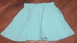 Mint Green High-waisted Flare Skirt - $7.00