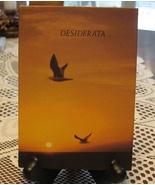 VTG Desiderata-Max Ehrmann-Hardcover Mini Book-Boston MA - $8.00