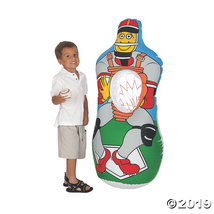 Inflatable Baseball Catch Game - $16.74