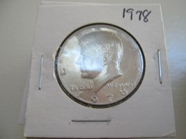 Kennedy Half Dollars , 1977 - 1979 , Mixed  Dates and Mints , Lot of 48 - $95.00