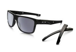 8f9e3cffeb Oakley Sunglasses Crossrange OO9361-0157 Polished Black Frames Grey Lens  57MM -  127.36