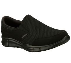 51361 Ew Large Noir Skechers Chaussure Hommes Neuf Mousse à Mémoire de F... - $56.68