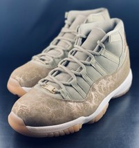 Nike Womens Air Jordan 11 Retro Neutral Olive Sail LUX AR0715-200 Size 11.5 - $247.49