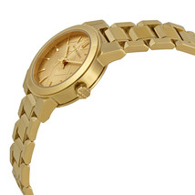 NEW Burberry  BU9227  Gold / Gold Stainless Steel Analog Quartz Women's Watch image 2