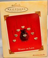 Hallmark: Words of Love - 8 Piece Set - 2003 Keepsake Ornament - $14.57