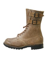 New Military Vintage 1950 French Rangers Foreign Legion Leather Suede Boots - $117.78+