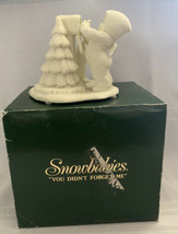 Department 56 Snow Babies Snowbabies So You Didn't Forget Figure - $23.36
