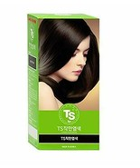 [ TS ] Chakhan Hair Color Cream to cover gray hair (No. 3 Black) - $15.35