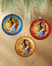 Icon Ornament Set of 3