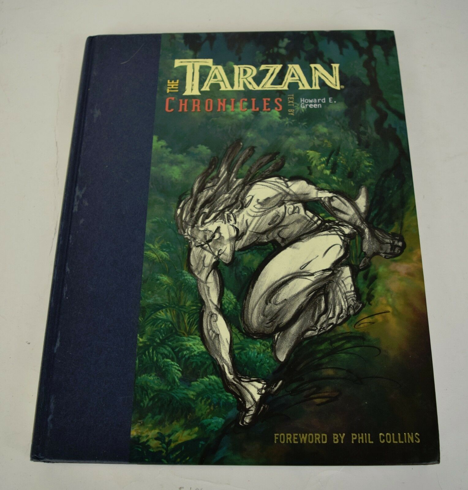 The Tarzan Chronicles HC Signed Howard E Green Walt Disney Animation Movie