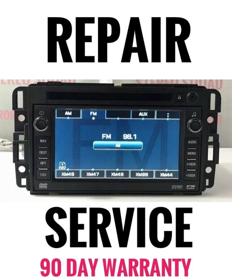 Repair Service For Your GM Navigation Radio With Bad CD DVD Player - $196.27
